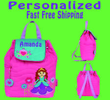 Personalized Stephen Joseph Princess School Backpack Use for Diaper Bag