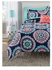 New Medallion Full Size Comforter Set Bedding Sheets Bedspread Sheets Shams Kids