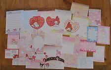 Sanrio MY MELODY 30 sheets Stationery / Stationary Memo Writing Paper LOT