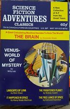 SCIENCE FICTION ADVENTURES CLASSICS MAY 1974 DIGEST