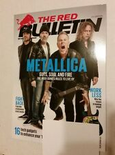 "METALLICA ON COVER OF ""THE RED BULLETIN"" MAGAZINE 2017 - JAMES HETFIELD, LARS!"