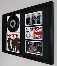 More details for the jam the modern world original vinyl v rare paul weller luxury box framed