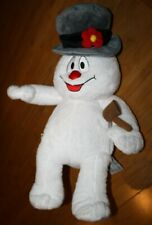 """18"""" BUILD A BEAR FROSTY THE SNOWMAN CHRISTMAS WITH A PIPE PLUSH LIGHTS UP TOY"""
