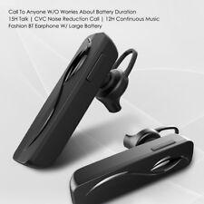 Wireless Bluetooth Stereo Headset Hand Free Earbud Earphone Earpiece Headphone