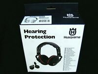 HUSQVARNA LIGHTWEIGHT PADDED HEARING PROTECTORS DEFENDERS  EAR MUFFS UP TO 25DB