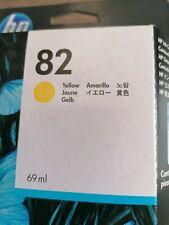 HP inktcartridge Yellow 82 c4913a