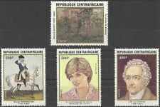 Timbres Personnages Centrafrique 507/10 ** lot 4726