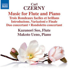 Czerny / Seo / Ueno - Music for Flute & Piano [New CD]
