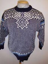 """Tradizionali Vintage nordico Norvegese Modello Crew maglione a girocollo taglie XS 32-34"""""""