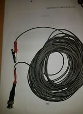 Onda corta alambre largo Receptor de Antena HF oyente con conexión BNC 15 metros.