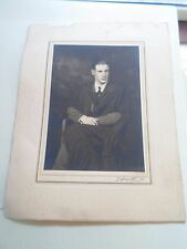 Old Photograph - Student or Teacher in Black Graduation Type Robe Lafayette Ltd