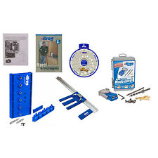 Kreg KMA2675 Rip Cut Saw Guide, R3 Hole Jig, Shelf Pin, Screw Selector, DVD