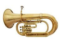 Brand New Brass Finish Bb Euphonium With Free Hard Case+M/P+Free Shipping