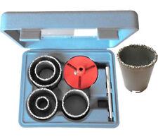 Fliesen Bohrkronen 7er Set Diamant Hartmetall Bohrer 33mm 53mm 67mm 73mm 83mm