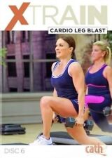 CATHE FRIEDRICH XTRAIN CARDIO LEG BLAST DVD EXERCISE WORKOUT NEW SEALED X TRAIN
