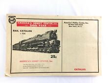 Vintage Americas Hobby Center 24th Year Rail Catalog #R30 Train