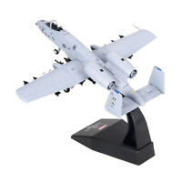 Diecast Airplane 1:100 American A-10 Warthog Metal 6.8 inches Plane Model Office