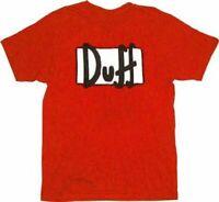 Paradise Mens Pyjamas The Simpsons T Shirt TOP Long Bottoms PJ Set DUFF Donuts S-XXL