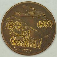 1939 Golden Gate International Exposition Wagon to Airplane Token GGIE 140-C