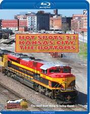 Hot Spots 23 Kansas City The Bottoms BLURAY NEW Highball BNSF UP NS KCT
