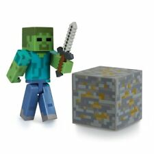 """NUOVO Ufficiale Minecraft Zombie 3"""" Action Figure Giocattolo"""