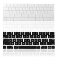 Durable Keyboard Cover Silicone Skin for MacBook Pro Touch Bar A1989 A1990 A1706