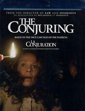 NEW BLU-RAY  // THE CONJURING // Vera Farmiga, Patrick Wilson, Ron Livingston,