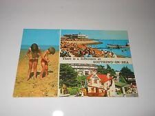 Postcard - Southend-On-Sea - 3 Different Views - Essex, United Kingdom