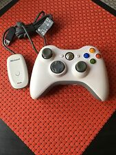 Official OEM Microsoft xbox 360 Wireless Controller w/ adapter for PC