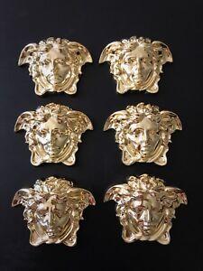 6 of Versace Medusa Appliques