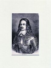Antique matted print portrait prins Willem II ,William II, Prince of Orange