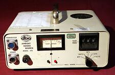 aba AMBIENT RANGE SOURCE MODEL 210 BLACK BODY   RADIATION SOURCE CONTROLLER