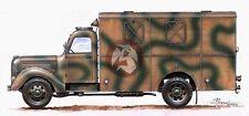 CMK 1/35 Praga RND 3Ton Shop Van (WWII and Post War) RA027