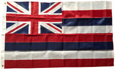 3x5 Ft Hawaii State Nylon Deluxe Sewn Us American Flag