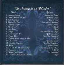 rare MUSICA DE PELICULAS 60 70 CD sleeve PEDRO INFANTE yo no fui AMORCITOCORAZON