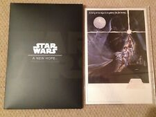 Niue Star Wars Poster New Hope Silver Foil Note 35g Silver $2 OGP SKU53156 ANH