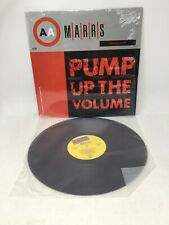 """MARRS / Pump Up The Volume 12"""" Vinyl Record VG+ In Shrink"""