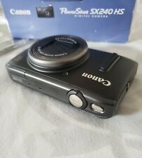Canon Powershot SX240 HS Digital Camera With 12.1 MP, 20x Optical Zoom 3.2 Black