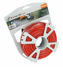Genuine STIHL 2.7mm x 68 Metres SQUARE Nylon Strimmer Line Cord 0000 930 2643