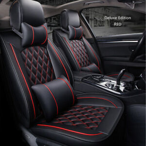 Universal 5-Seats Car Seat Cover Luxury Leather For Holden For Mazda CX-5 AU