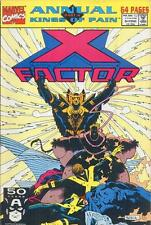 Marvel X-Factor Annual Kings of Pain Part 4 August 1991 Vol1 Issue 6 Comic Books
