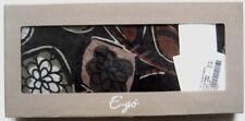 E-GO Damentuch - Foulard Gr. One Size braun-schwarz-gemustert