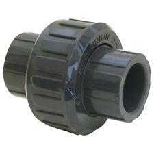 """EZ-Flo 1-1/4"""" Slip PVC Union Solvent Schedule 80 - 88737"""