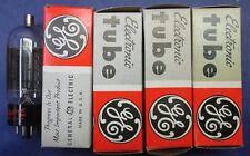 Lot of 4 6BG6 GA Audio Amp Radio GE Tube - IN BOXES ! UNTESTED!