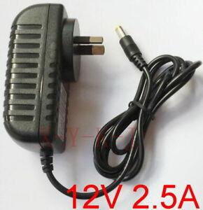 AC 100V-240V Switching Power Supply DC 12V 2.5A adapter 30W 2500mA AU plug 5.5mm