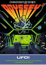 Framed Odyssey 2 Gaming Print – UFO! 1981 (Picture Poster Alien Sony Game Art)