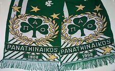 Panathinaikos FC Scarf, Kaskol,  Football, Soccer, Basketball, PAO