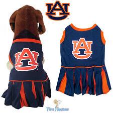 NCAA Pet Fan Gear AUBURN TIGERS Dog Dress Female Cheerleader Outfit for Dogs