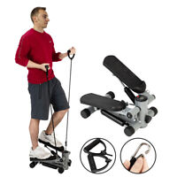 Min Stepper Stair Climber Adjustable Exercise Machine Equipment Fitness Trainer