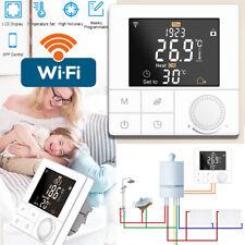 Smart Wifi Programmierbar Thermostat Raumthermostat Fußbodenheizung Haus LCD